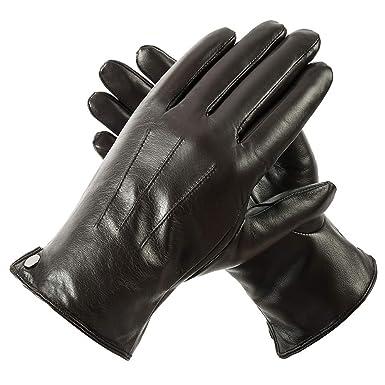 18728ac920c3cb Herren Winter Lederhandschuhe von Acdyion für Touch Screen geeignet ...