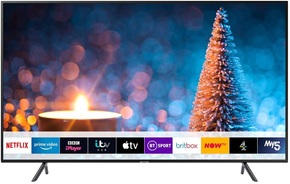 SAMSUNG 75 Pulgadas TV ru7100 HDR Inteligente 4k: Amazon.es: Electrónica