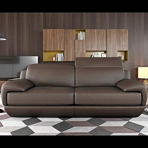 Ledercouch design  Designer Zweisitzer Ledercouch Ledersofa Couchgarnitur ...