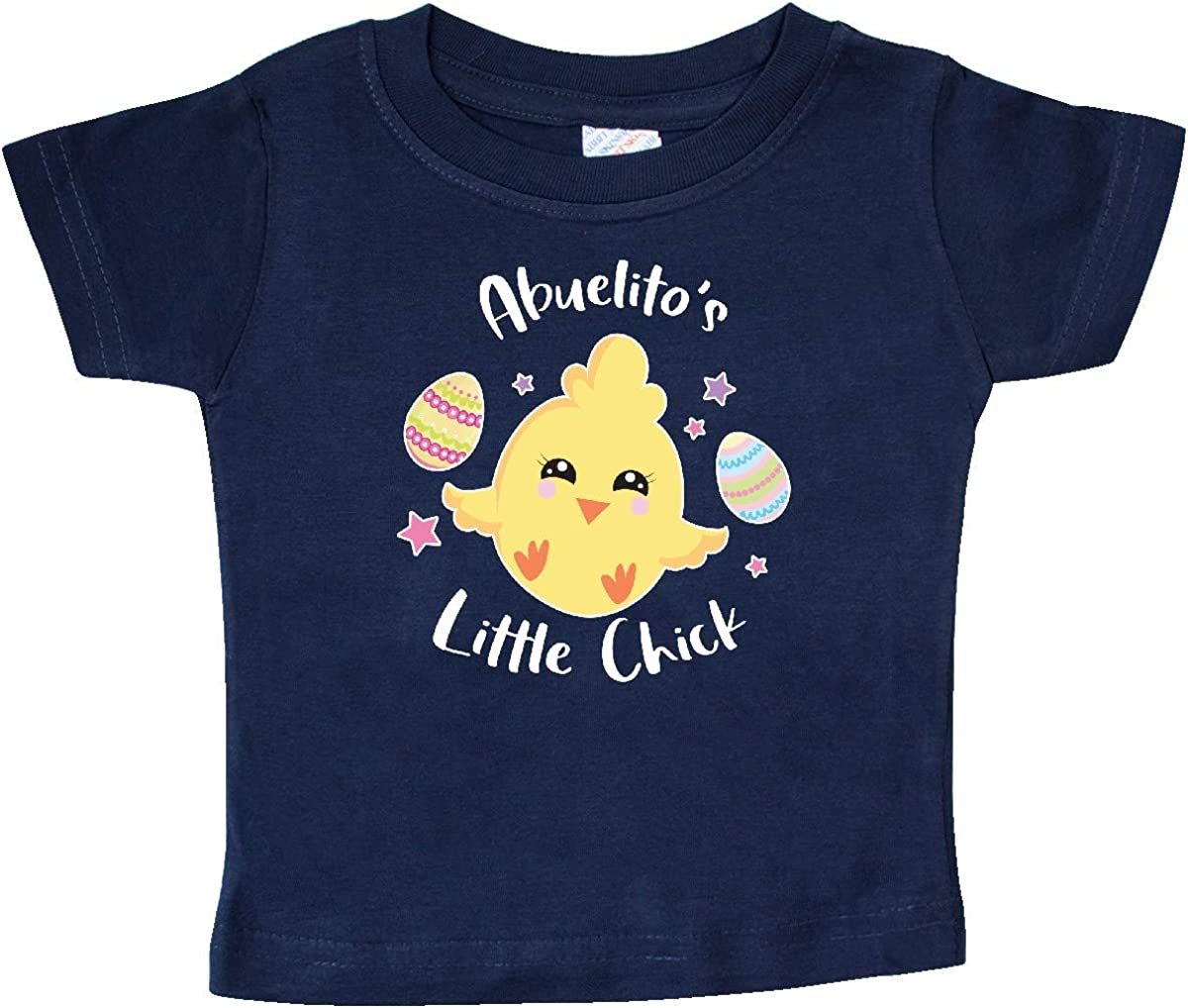 inktastic Happy Easter Abuelitos Little Chick Baby T-Shirt