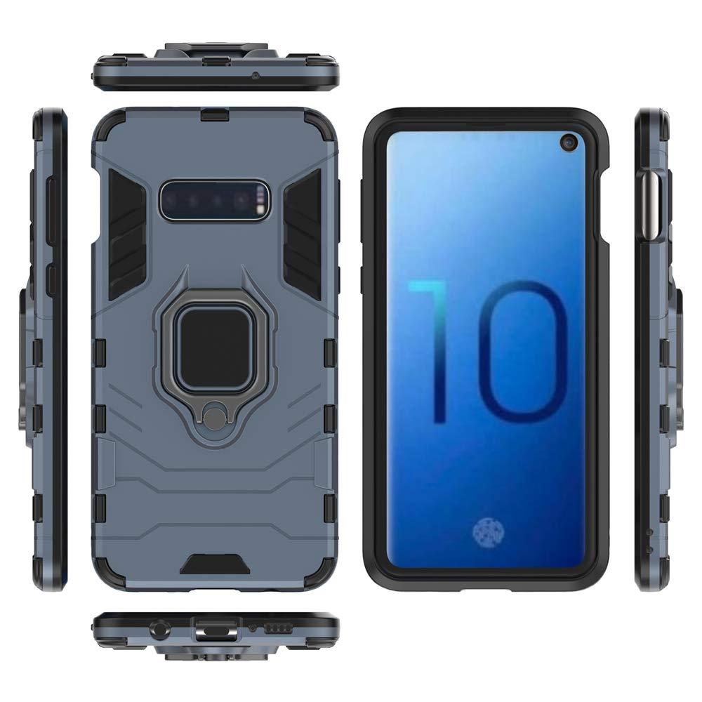 no Incluye un Soporte magn/ético Protector de Pantalla DESCHE para Funda Samsung A7 2018 - Nero Compatible con el Soporte magn/ético para autom/óvil Funda A750 Funda para Soporte de Anillo