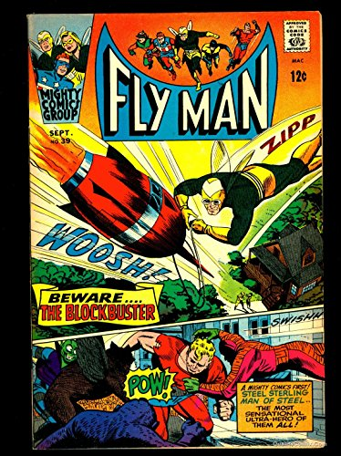 Fly man #39 FN/VF 7.0 Tongie Farm Collection Pedigree