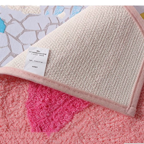 Toilet cushion,Luxury toilet seat cover 2 Pack set (Lid cover & Tank cover) Bathroom super warm soft comfy -B by Wayer (Image #3)
