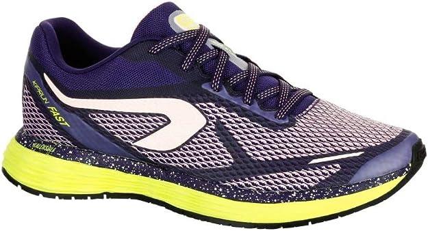 Kalenji - Zapatillas de Running de Caucho para Mujer, Color Morado ...