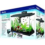 Aqueon Aquarium Fish Tank Starter Kit with LED Lighting, 20""