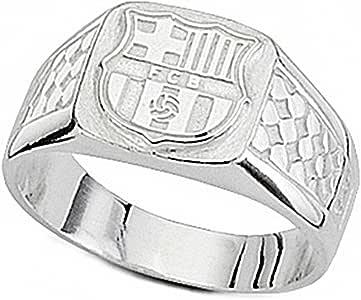 Sello escudo F.C. Barcelona Plata de ley cadete malla [6931] - Modelo: 10-083: Amazon.es: Joyería