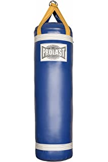 501a6a02b62 Amazon.com : Prolast Luxury Boxing Filled Black/Yellow 4FT XL Made ...