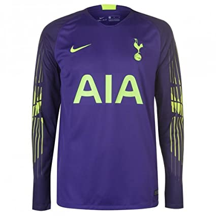9dcf84061b3 Image Unavailable. Image not available for. Color  Nike 2018-2019 Tottenham  Home Goalkeeper Football Soccer T-Shirt ...