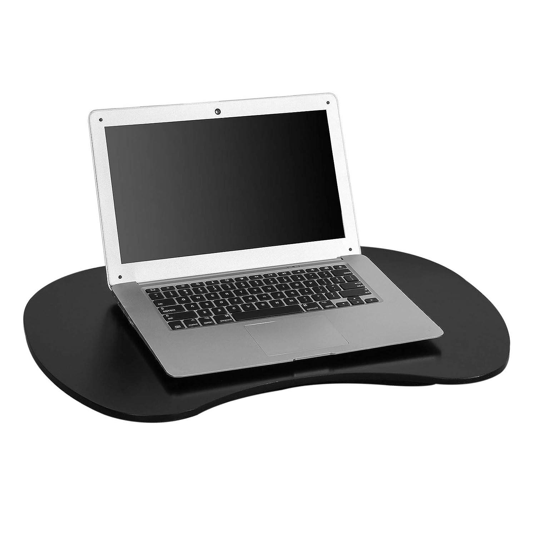 SoBuy Cuscino Supporto Tavoletta per Pc Notebook, Adatto di Laptop 13-17.3 Pollici, Nero FBT70-SCH