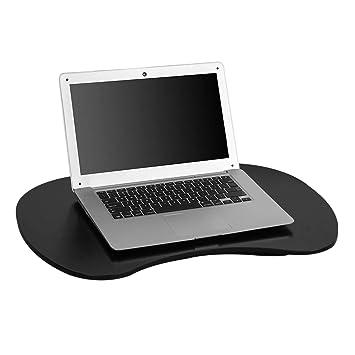 SoBuy FBT70-SCH Soporte para Ordenador portátil,Negro,59 * 40 cm,ES: Amazon.es: Hogar