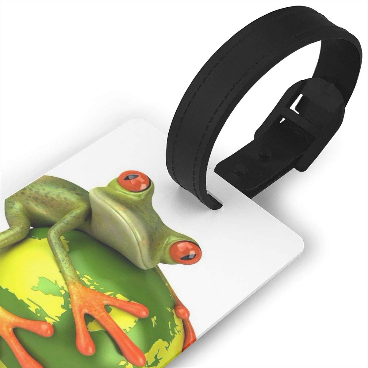 2 Pack Luggage Tags Frog Travel Tags For Travel Tags Accessories