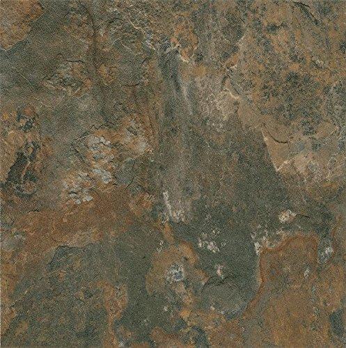 Armstrong Mesa Stone Alterna Vinyl Tile Flooring, Canyon Shadow/FPD6110861