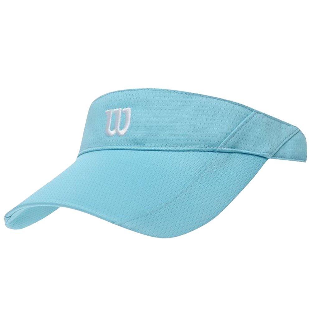 Wilson Ladies Lightweight Breathable Knit Tennis Visor Curved Peak Headwear N)