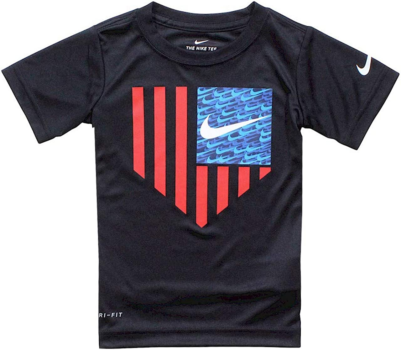 Nike Kids Boy's Home Plate Americana Tee (Little Kids)