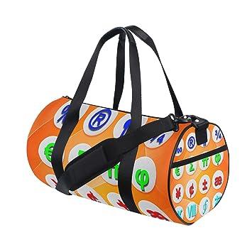 Amazon.com: Duffel Bolsas de Icono para mujer, bolsa de yoga ...