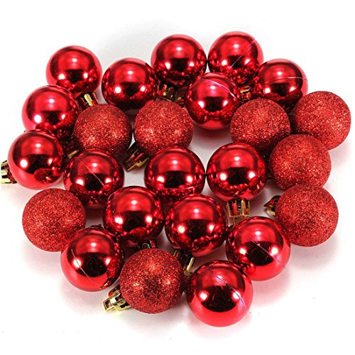 Ornament Balls Red