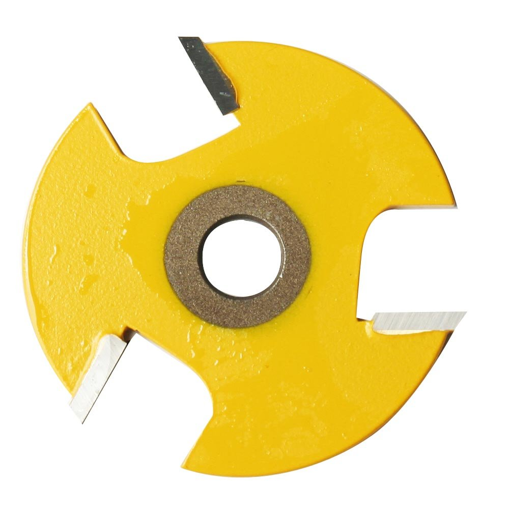 Kempston 704821 3 Wing Slot Cutter Cutter Only 1 8 Inch width 1 7 8 Inch Length 5 16 Arbor