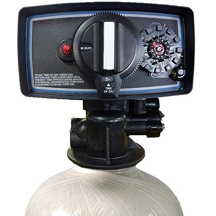 Carbon tank Filter CB1 5-56 Carbon Tank System Whole House 1 5 cu  ft   Fleck 5600 Filter Valve black