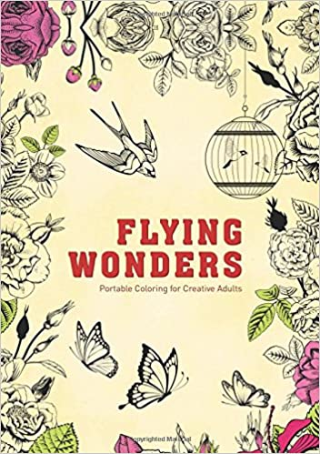 Amazon.com: Flying Wonders: Portable Coloring for Creative Adults ...