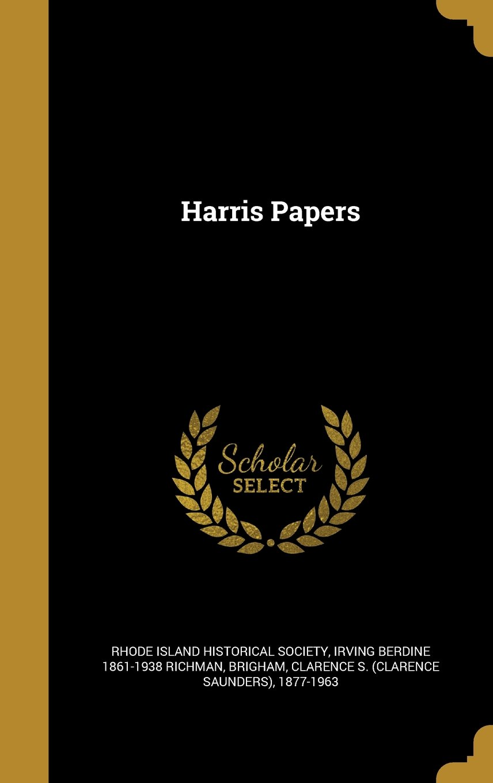 Download Harris Papers ebook