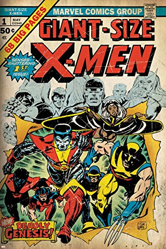 Marvel Comics Retro: The X-Men Comic Book Cover No.1  Poster