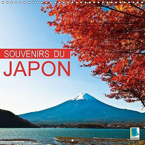 Souvenirs du Japon : Japon : Sanctuaires, rizières et métropoles. Calendrier mural 2017 ~ Calvendo