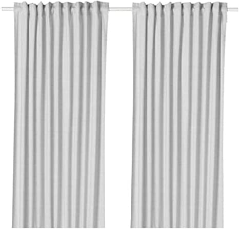 HANNALILL Ikea Gardinenpaar in Rosa 145x300 Fenster Dekoration Schal Vorhang