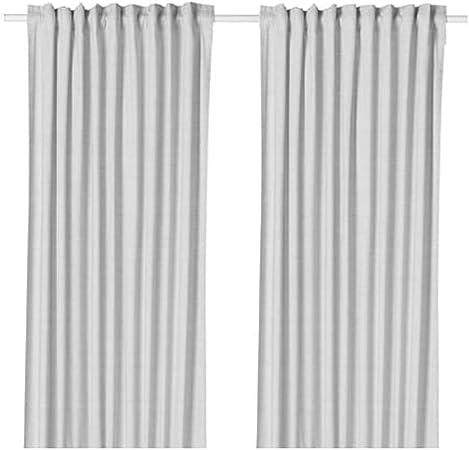 Ikea Hannalill 104.173.19 - Cortinas (1 par, 57 x 98 cm), Color ...