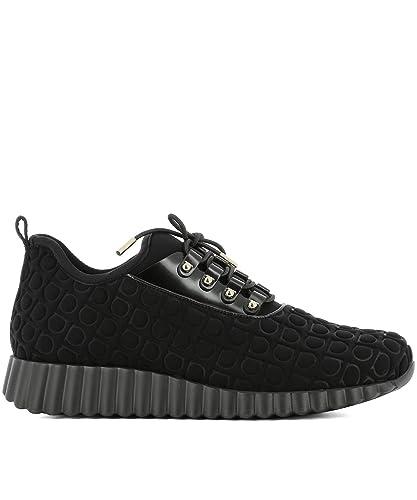 Chaussures De Sport Pour Les Femmes En Vente, Noir, Tissu, 2017, 36 Ferragamo