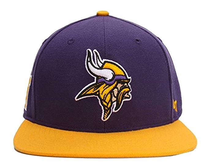 check out 9d3d4 c101f 47 Brand Super Shot Minnesota Vikings 2-Tone Strapback Hat