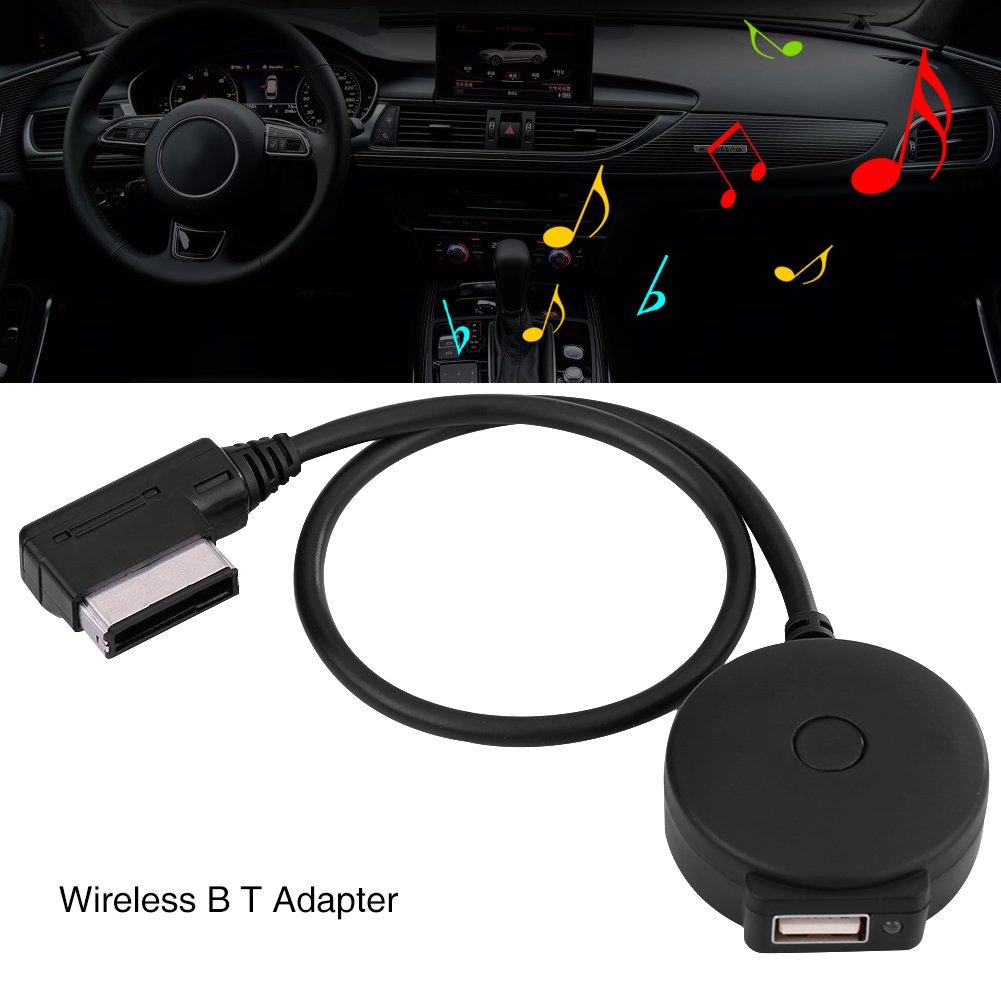 Ami Mdi BluetoothオーディオAux車メスUSBアダプタケーブルfor VWアウディa4 a6 q5 q7 Afterward 2009 B07D6M9DYK