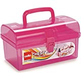 Cello Multi-Purpose Plastic Storage Box, Pink