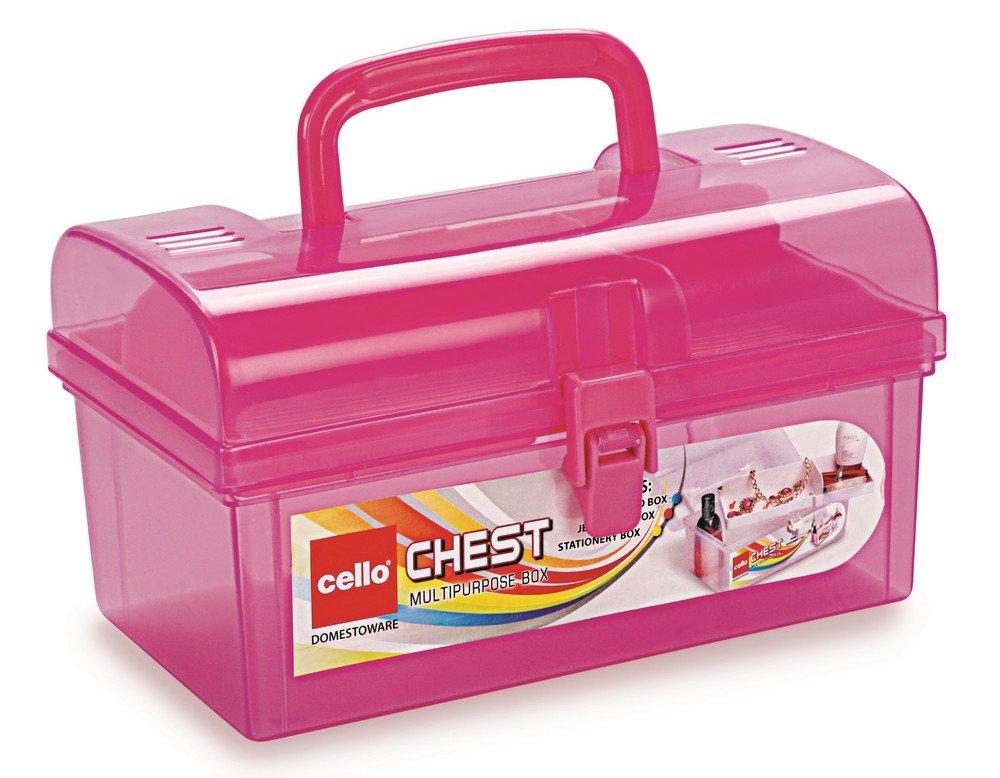 cello-multi-purpose-plastic-storage-box-pink