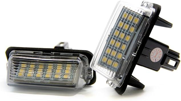 2 X Led Kennzeichenbeleuchtung Xenon Beleuchtung Kennzeichen Licht Auto