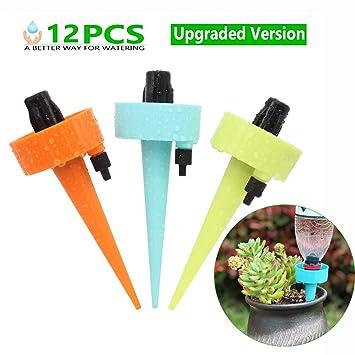 Automatisch Bewässerungssystem Wasser Spikes Bewässern Garten Pflanze 12 Stück