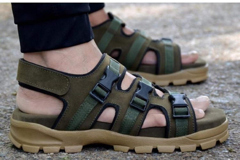Dakarr Men's 201 Black Sandal: Amazon.in: Shoes & Handbags