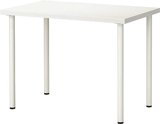 IKEA linnmon/adils Mesa, Escritorio Blanco 100 x 60 cm: Amazon.es ...