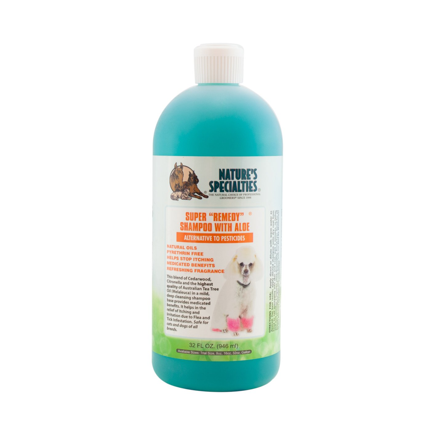 Nature's Specialties Super Remedy Pet Shampoo, 32-Ounce