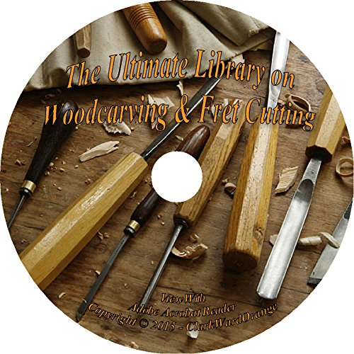 25 Vintage Books on CD – Woodcarving & Fret Cutting, Woodwork How to Wood Carve pdf