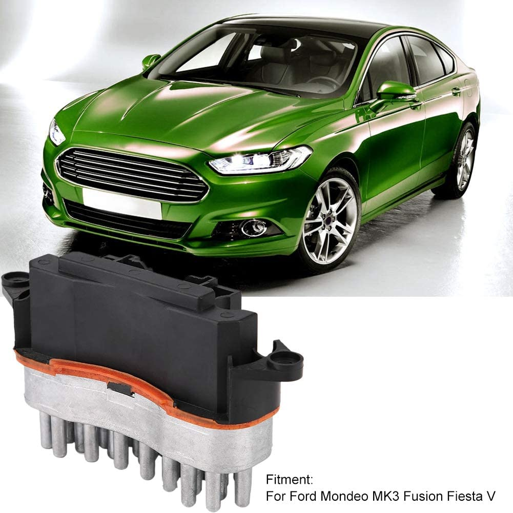 3S7H19E624AB Heater Blower Motor Resistor Fits Ford Mondeo MK3 Fusion Fiesta V