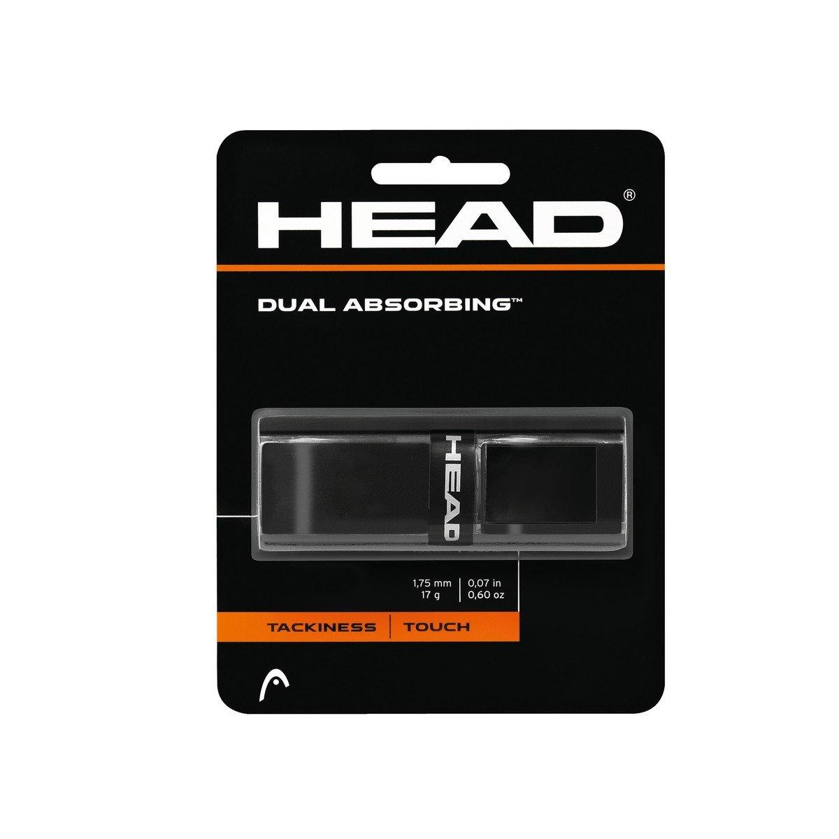 Head Dual Absorbing Grip, Negro, Única 285034-bk