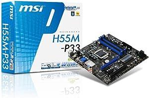 MSI H55M-E33 Motherboard