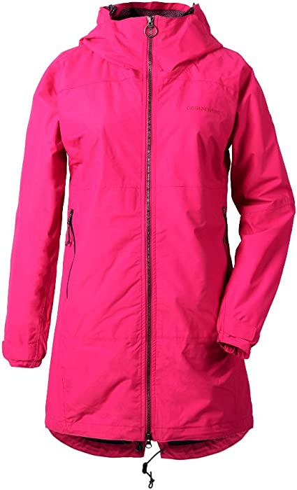 Didriksons Hilde Womens Jacket Waterproof Breathable Mid Length Coat