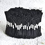 4800 Black Long Heads Flower Stamens Black yarn