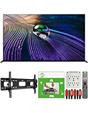 Sony XR55A90J 55-inch OLED 4K HDR Ultra Smart TV (2021 Model) Bundle with TaskRabbit Installation Services + Deco Gear Wall Mount + HDMI Cables + Surge Adapter photo