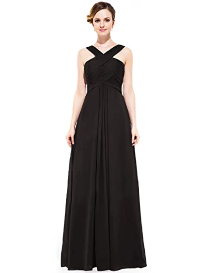 Loffy Womens Long Prom Evening Dress Gown Bridesmaid For Wedding At
