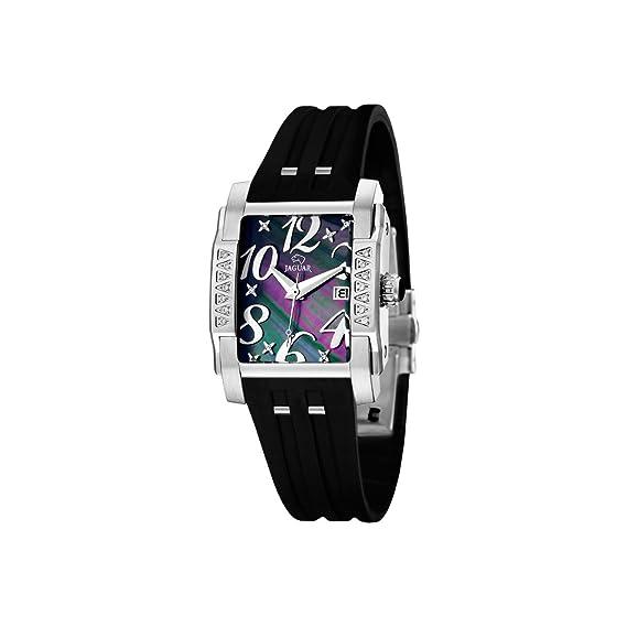 Jaguar 646/2 - Reloj de mujer de cuarzo, correa de caucho color negro