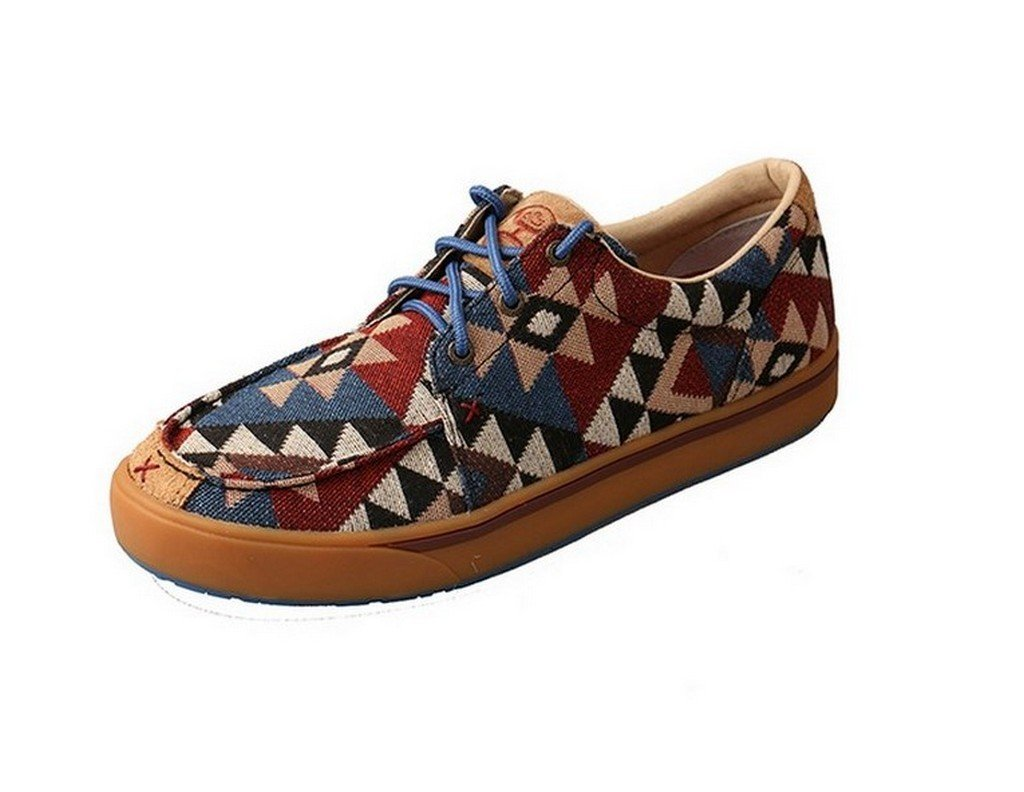 Galleon - Twisted X Boots Mens Hooey Aztec Canvas Casual Shoes 10 D(M) US  Multi 1a15245f29f