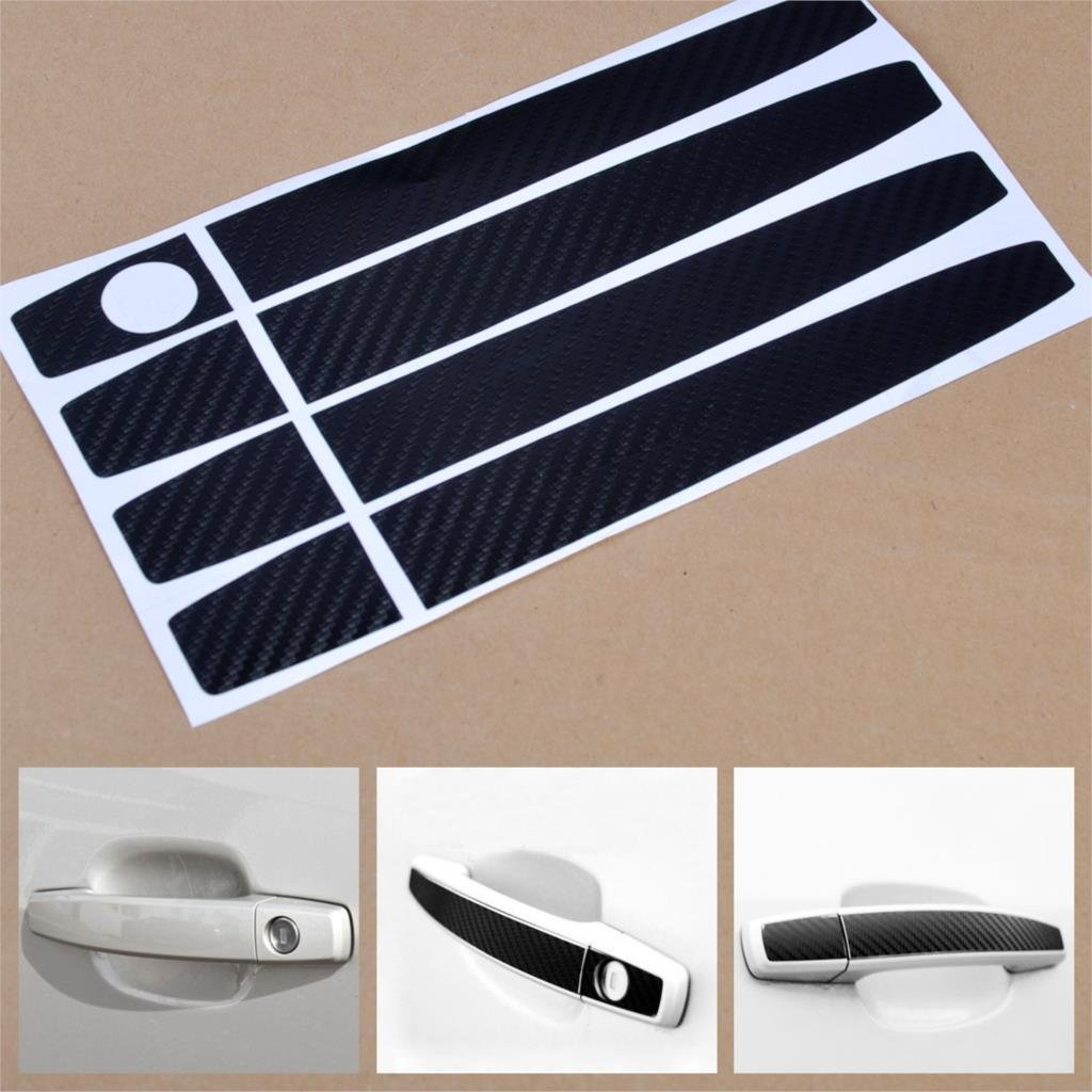 2 PCS Carbon Fiber Headlight Lamp Eyebrow Decoration Sticker for Chevrolet Cruze 2009-2014