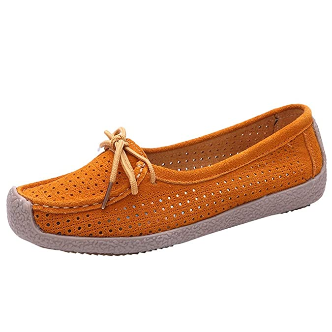 Damen Mokassins Halbschuhe Flache Schuhe Schwangere Frauen